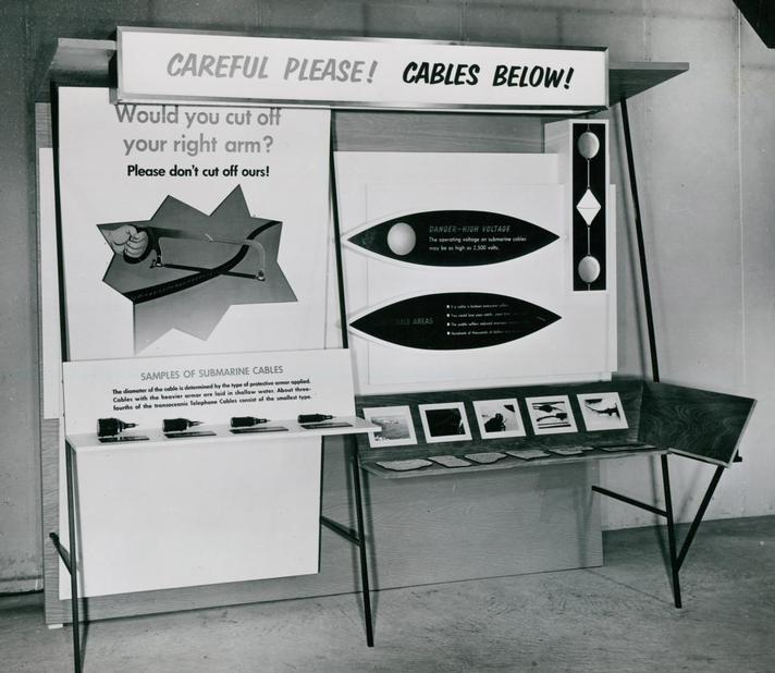1965 - Cable Damage Committee Exhibition Stand 1965 (Image 1) -