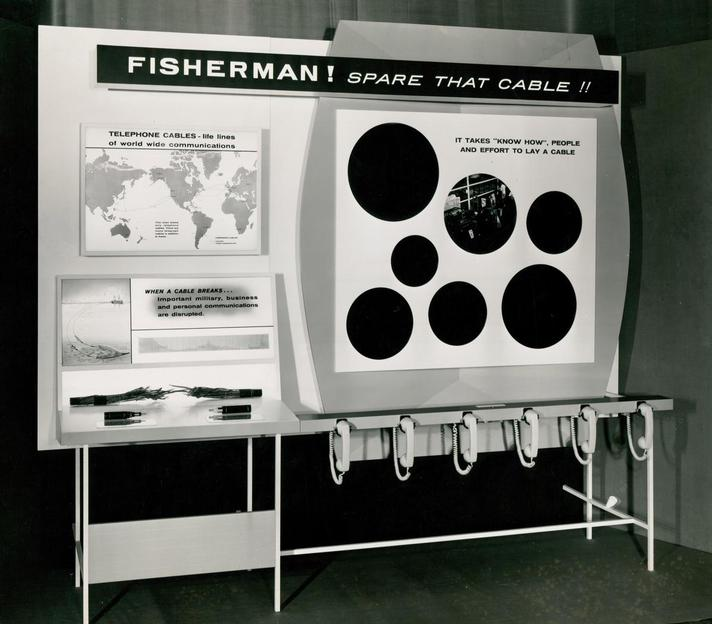1965 - Cable Damage Committee Exhibition Stand 1965 (Image 2) -