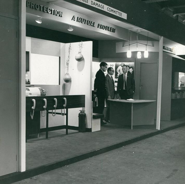 1969 - Cable Damage Committee Exhibition Stand at Oceanolgy Conference 1969 (Image 1) -