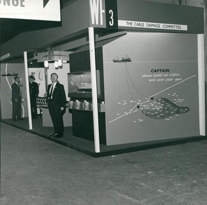 1969 - Cable Damage Committee Exhibition Stand at Oceanolgy Conference 1969 (Image 2) -