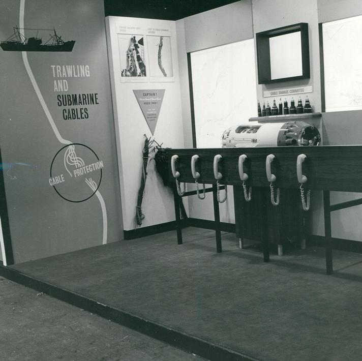 1969 - Cable Damage Committee Exhibition Stand at Oceanolgy Conference 1969 (Image 4) -